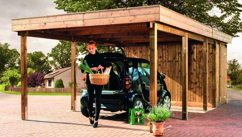 carports bei holzland k hrmann in weyhe bei bremen kaufen. Black Bedroom Furniture Sets. Home Design Ideas